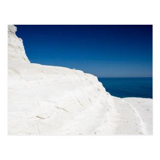 Sicily - Scala dei Turchi postcard
