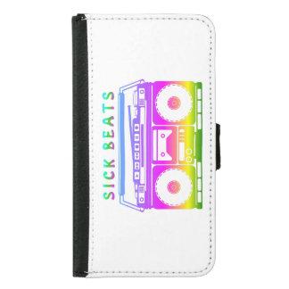 Sick Beats 80's Stereo Samsung Galaxy S5 Wallet Case