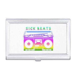 Sick Beats Business Card Cases
