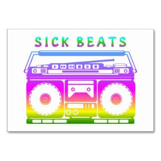 Sick Beats Card