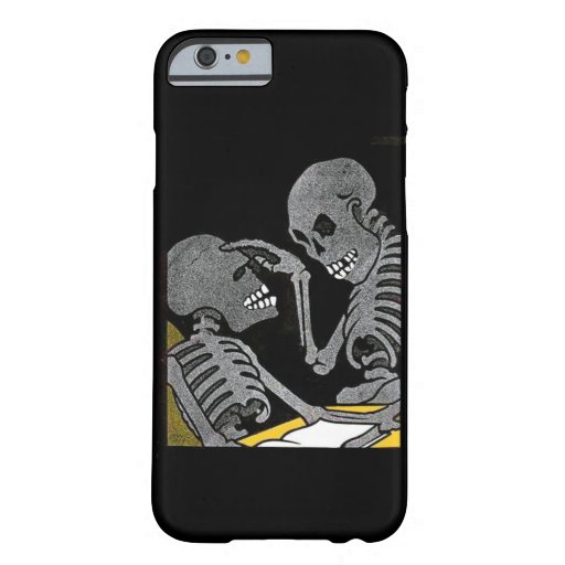Sick Bed Skeleton Barely There iPhone 6 Case