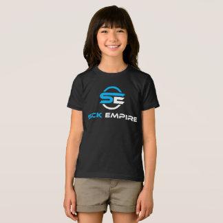 Sick Empire - Girls Tee 1 (Blue & White Logo)