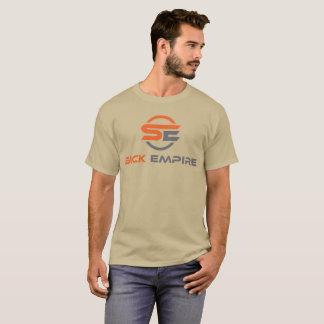 Sick Empire - Logo Tee 5 (Orange & Grey Logo)
