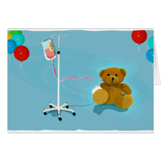 Sick_lil_Bear Greeting Card