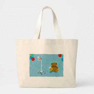 Sick_lil_Bear Jumbo Tote Bag