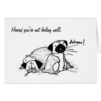 Sick Pugs Card