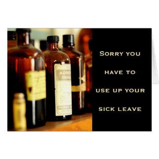 sick vs hooky card