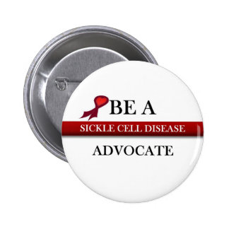 Sickle Cell Advocate 6 Cm Round Badge