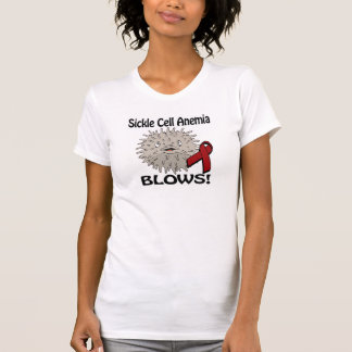 Sickle Cell Anemia Blows Awareness Design T-Shirt