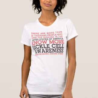 SICKLE CELL FACTS 2 | AWARENESS T SHIRT