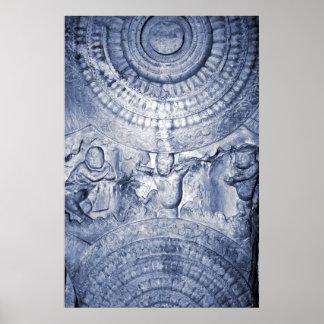 Siddhartha's Mandala Poster