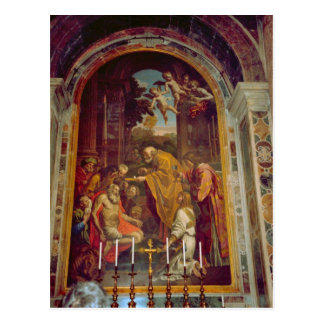 Side altar in St Peter's Basilica Postcard