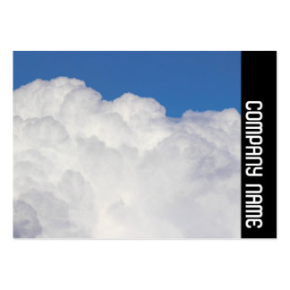 Side Band - Cumulus Clouds Business Card Templates