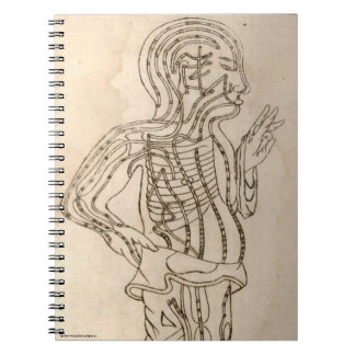 Side-facing Figure Notebook