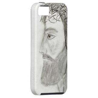 Side Jesus iPhone 5 Case