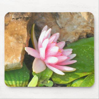 Side View of a Water lily Mouse Pad