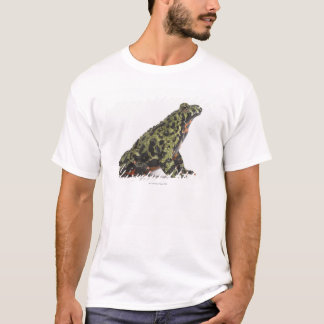 Side View of an Oriental Fire Bellied Toad T-Shirt