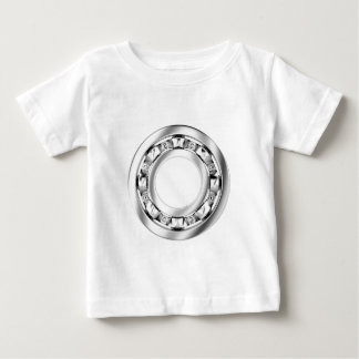 Side view of ball bearing baby T-Shirt