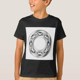 Side view of ball bearing T-Shirt