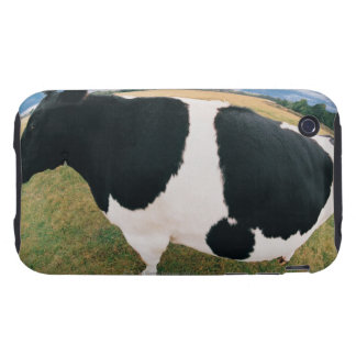 Side View of Friesian Cow Tough iPhone 3 Cover