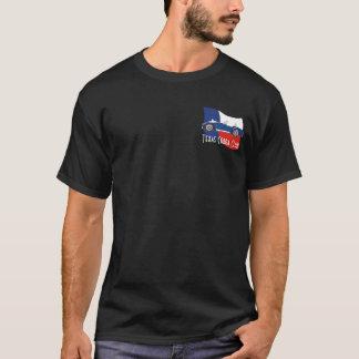 Side View, Texas Cobra Club with flag T-Shirt