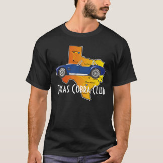Side View, Texas Cobra Club with state T-Shirt