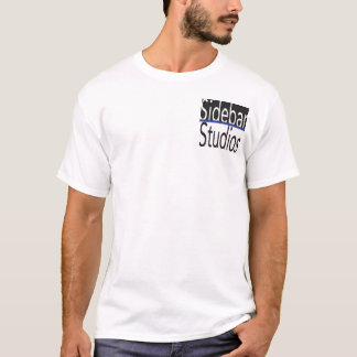 Sidebar Studios Shirt w/ Blue Lives Matter CopMoji