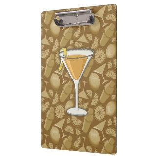 Sidecar cocktail clipboard
