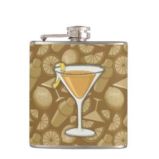 Sidecar cocktail hip flask