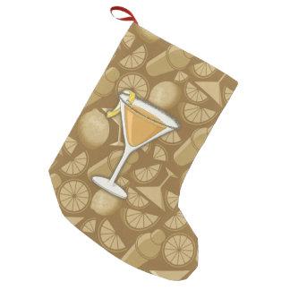 Sidecar cocktail small christmas stocking
