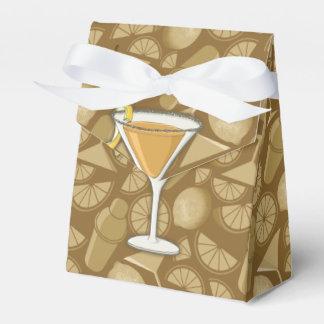 Sidecar cocktail wedding favour box