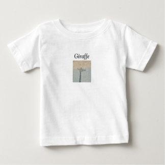 Sidewalk Giraffe Baby T-Shirt
