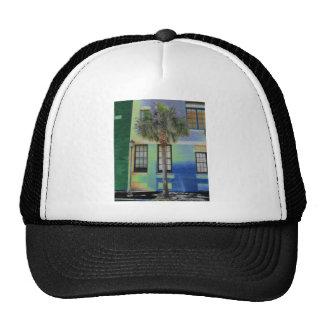Sidewalk Palm Tree Trucker Hat