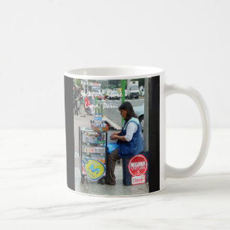 Sidewalk Store in Lima Peru Coffee Mug