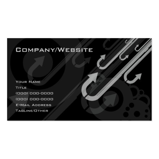 Sideways up business card template zazzlecomau for Ups business cards templates