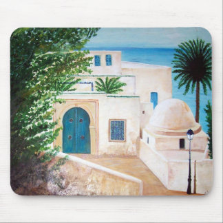 """Sidi Bou Said, Tunisia"" mousepad"