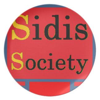 Sidis Society store Plate