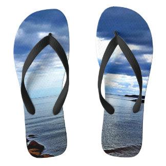 Sidmouth Beach Flip Flops