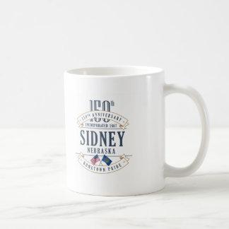 Sidney, Nebraska 150th Anniversary Mug
