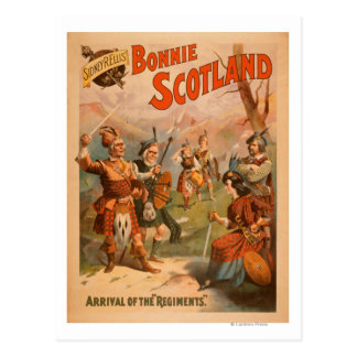 Sidney R. Ellis' Bonnie Scotland Scottish Play 4 Postcard
