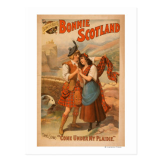 Sidney R. Ellis' Bonnie Scotland Scottish Play Postcard