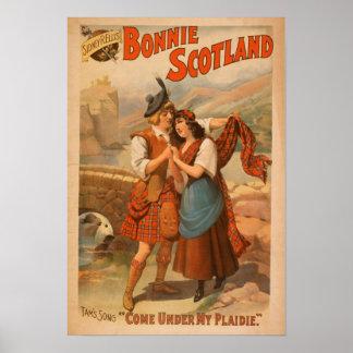 Sidney R. Ellis' Bonnie Scotland Scottish Play Poster