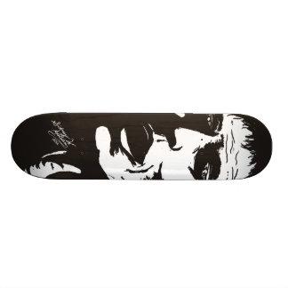 Sid's art on skateboard