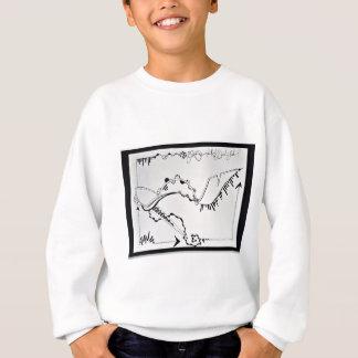 SieCel Fashion Shoe Drawing Print Sweatshirt