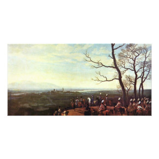 Siege Of Kosel (In Silesia, 1760) By Kobell Photo Greeting Card