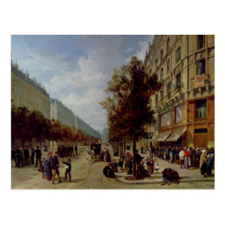 Siege of Paris Postcard