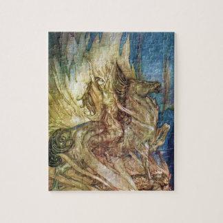Siegfried & The Twilight of the Gods by A Rackham Jigsaw Puzzle