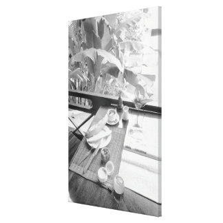 Siem Reap Cambodia, Continental Breakfast Gallery Wrapped Canvas
