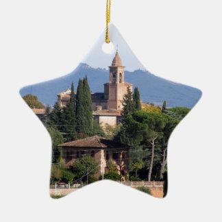 Siena, Italy Ceramic Ornament