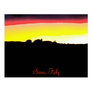 Siena Italy Postcard
